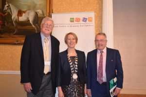 Dr McTigue, Dr A O'Connell, Prof O'Mullane
